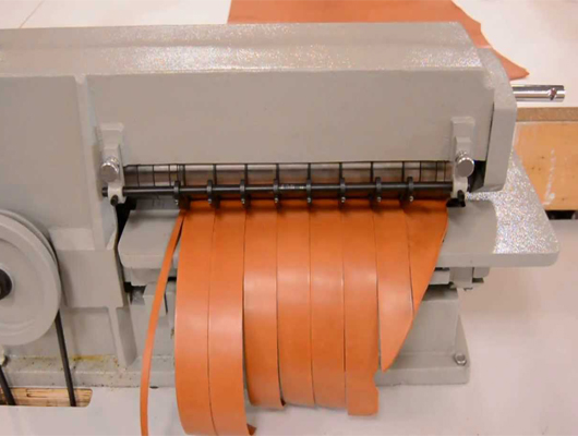 Leather Strap Cutting Machine